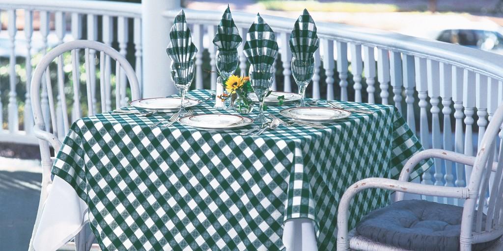 Toalha de mesa xadrez